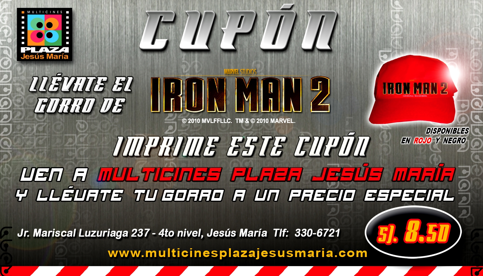 LLEVATE EL GORRO IRON MAN 2 copia[1].JPG