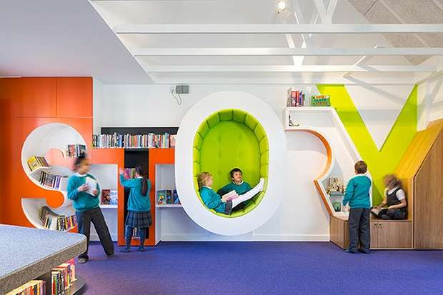 The library space at The Stephen Perse foundation junior school.jpg